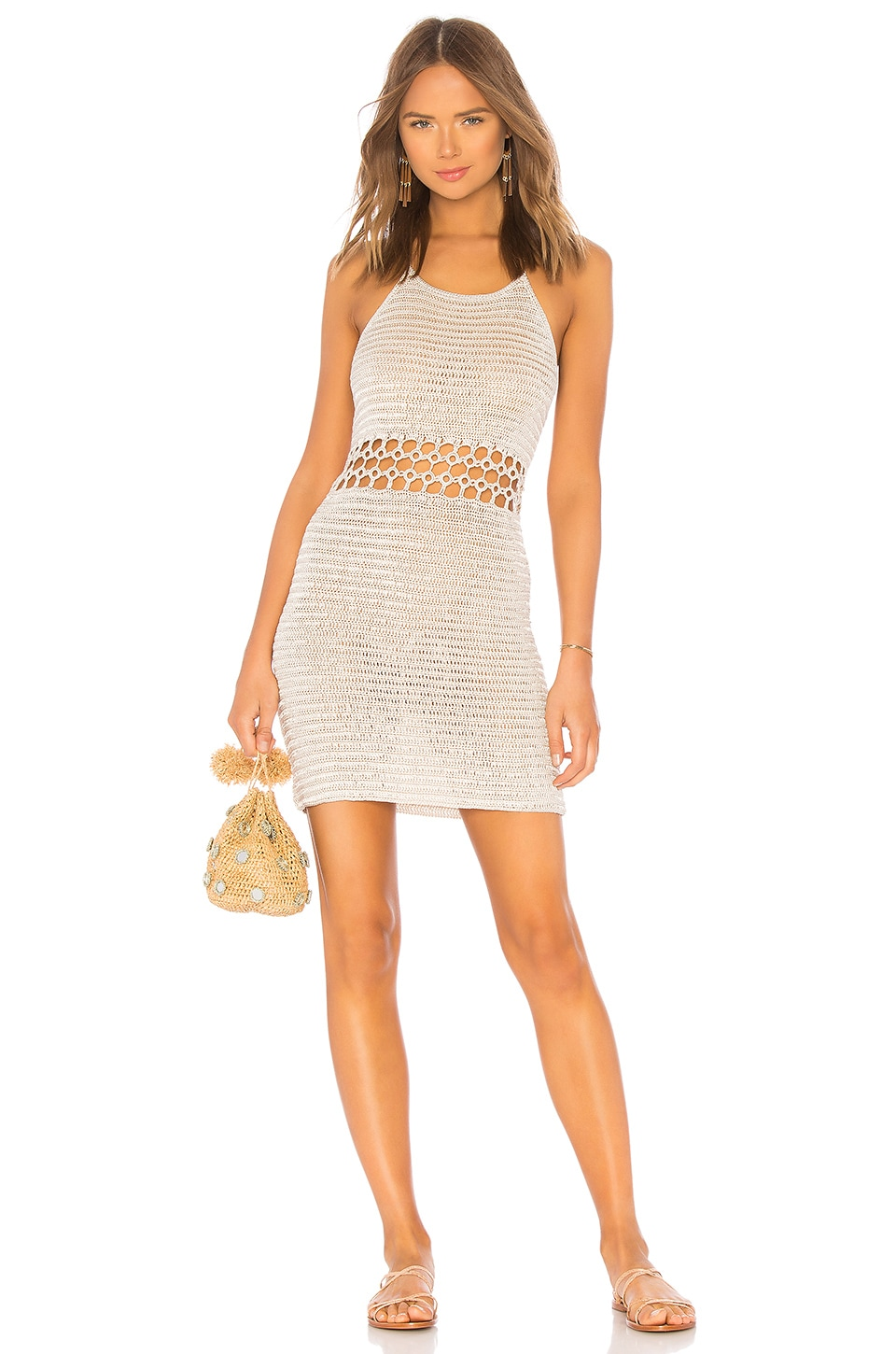 Ring It Crochet Dress