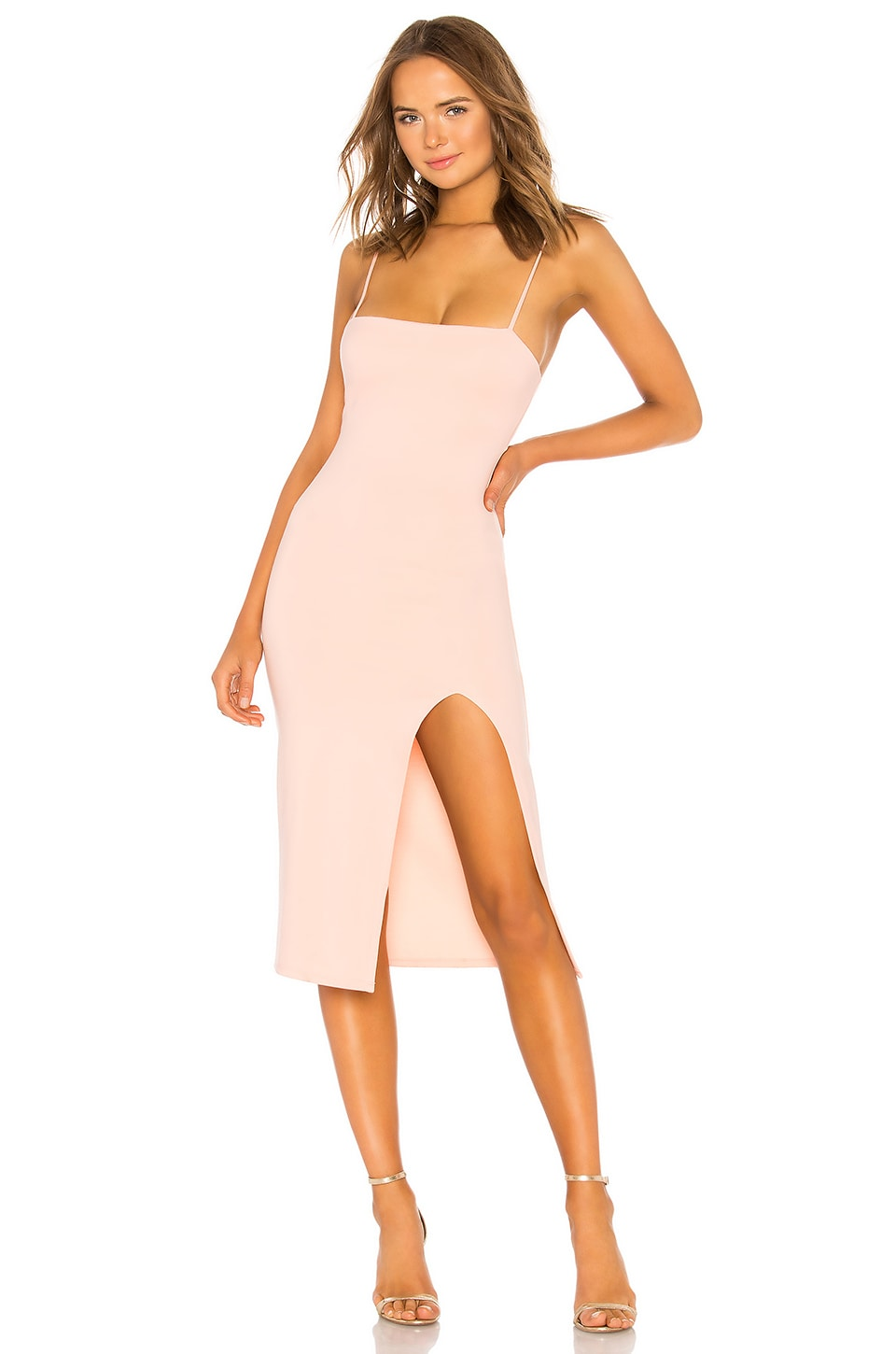Lovers + Friends Skylar Midi in Gardenia