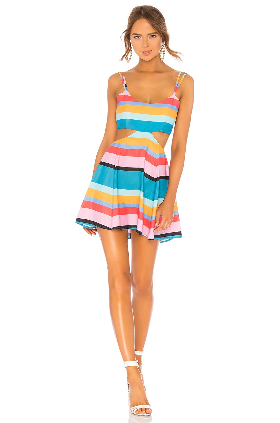 Lovers + Friends Alexandra Dress in April Stripe