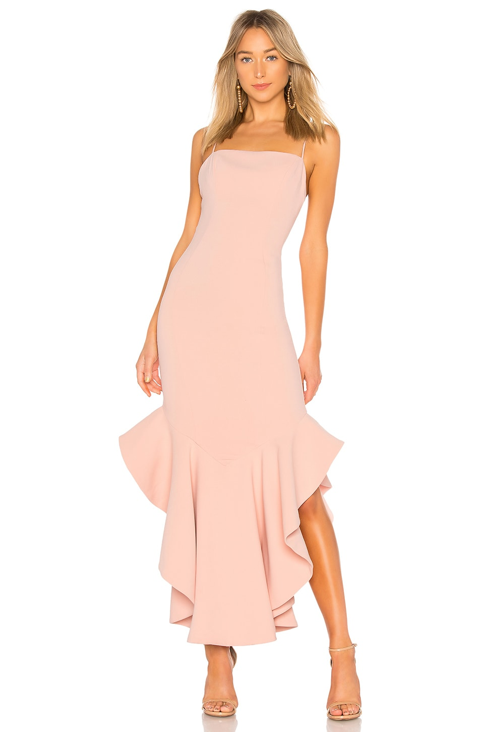 Lovers + Friends James Gown in Light Pink