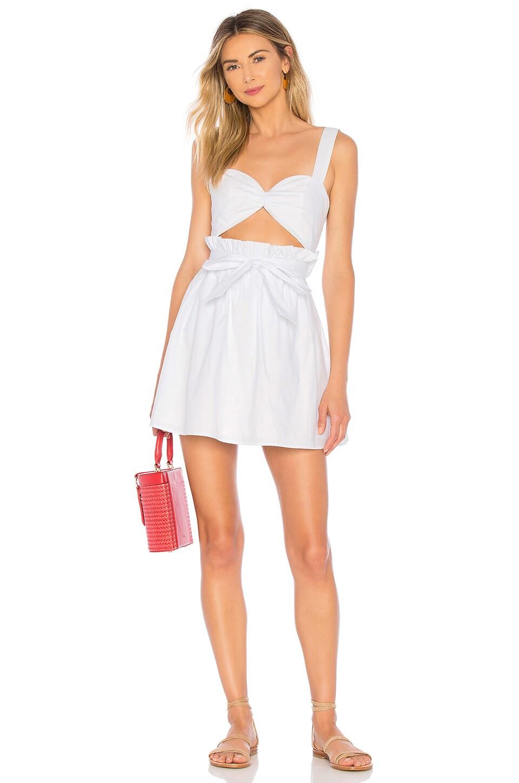 Lovers + Friends Dael Dress in White