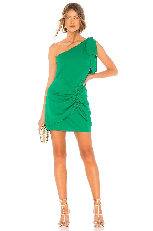 Lovers + Friends Ashbury Mini Dress in Green