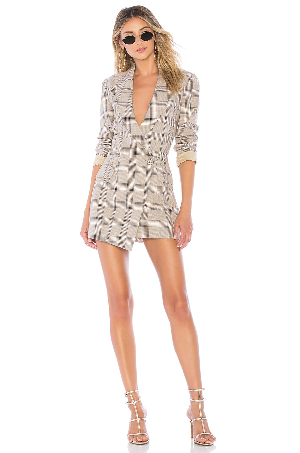 Lovers + Friends VESTIDO BLAZER ALLY