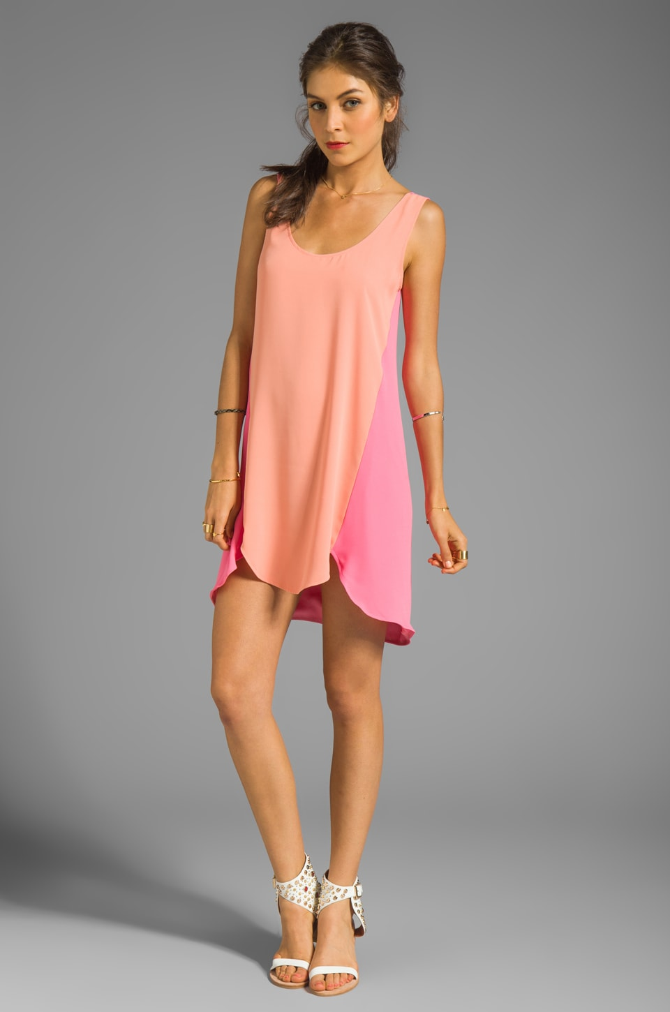 Lovers + Friends Dandy Shift Dress in Pink