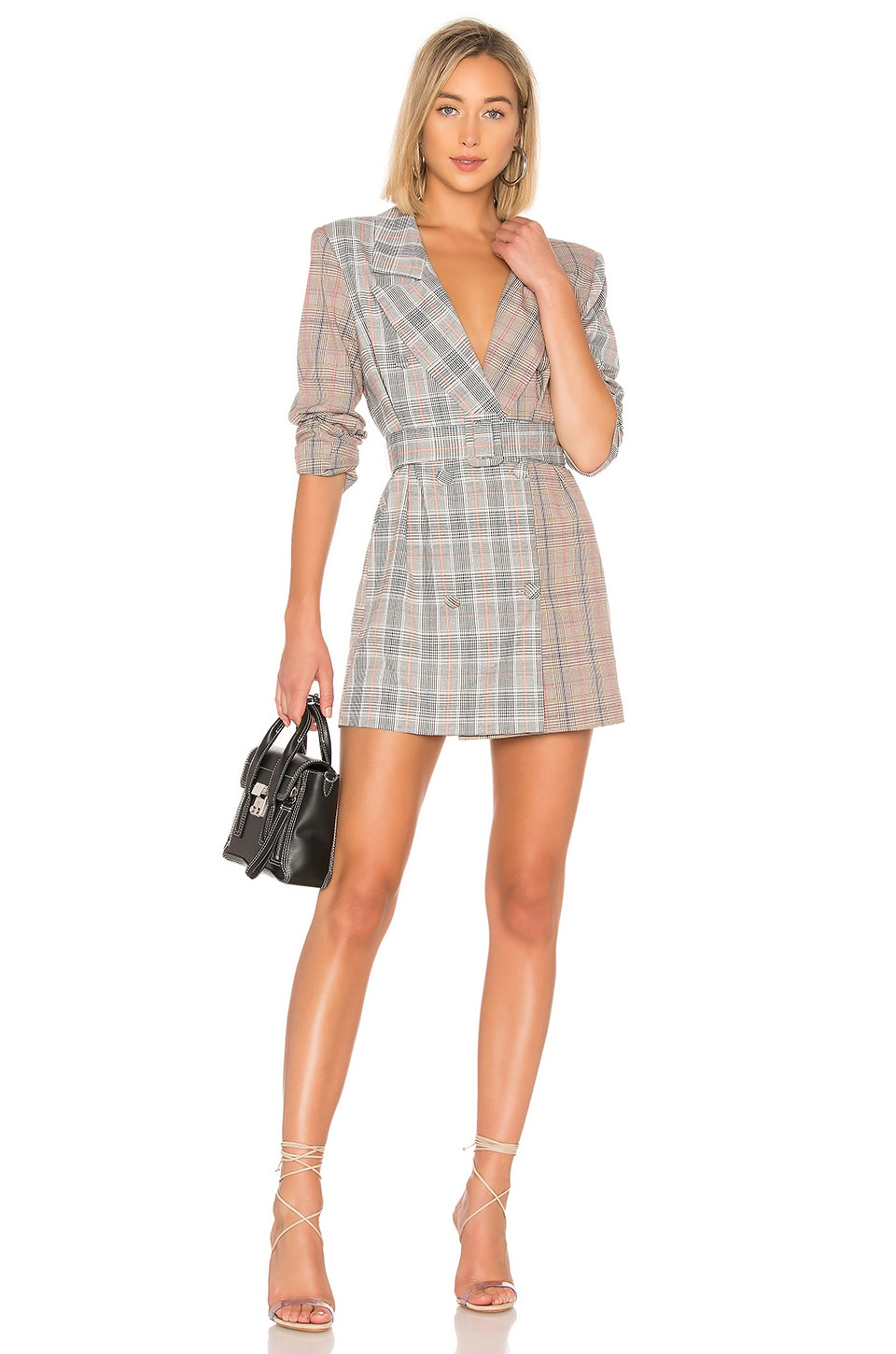 Lovers + Friends Kimber Blazer Dress in Multi