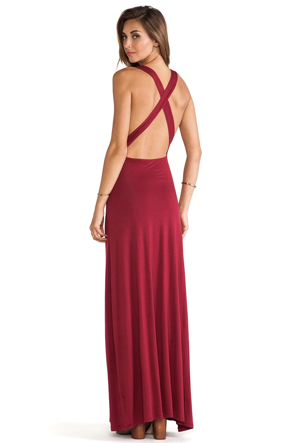 Lovers + Friends Feeling Fine Maxi Dress in Scooter