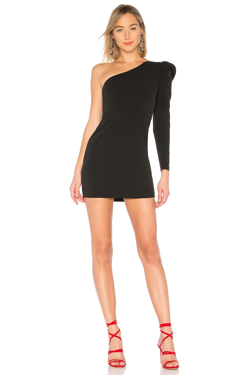 Lovers + Friends Nash Mini Dress in Black