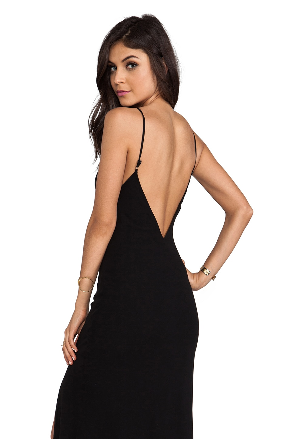 Lovers + Friends Maybe Tomorrow Dress in Black