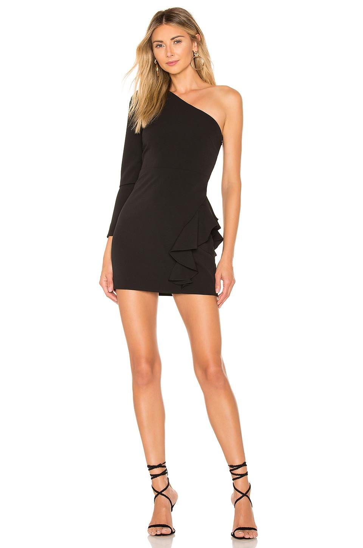 Lovers + Friends Jett Mini Dress in Black