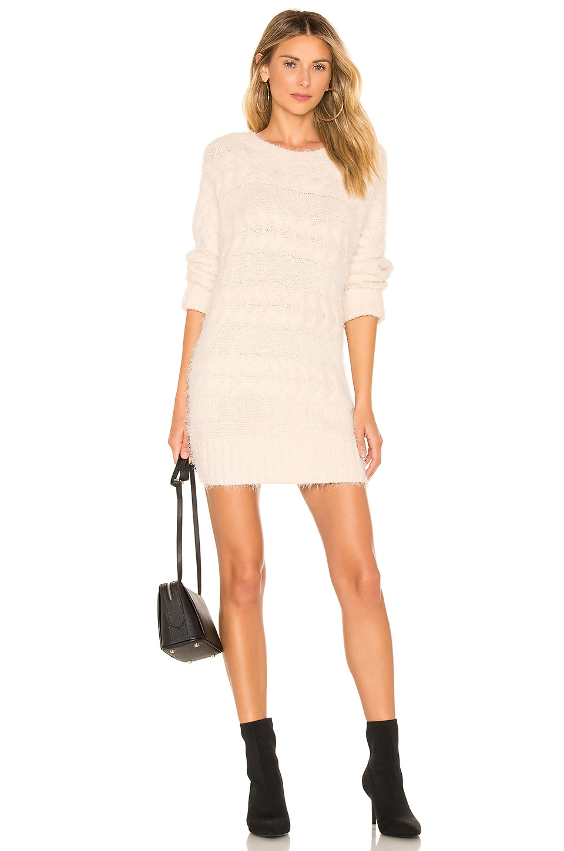 Lovers + Friends Reese Sweater Dress in Ivory