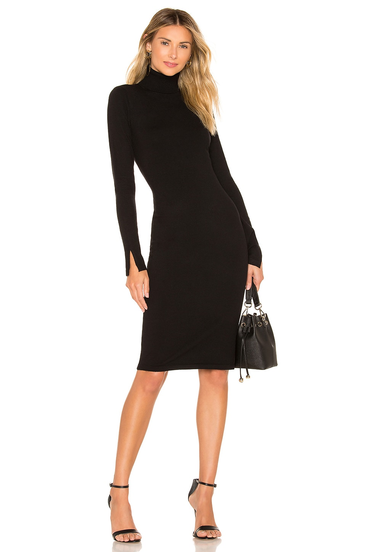 Lovers + Friends Vik Turtleneck Dress in Black
