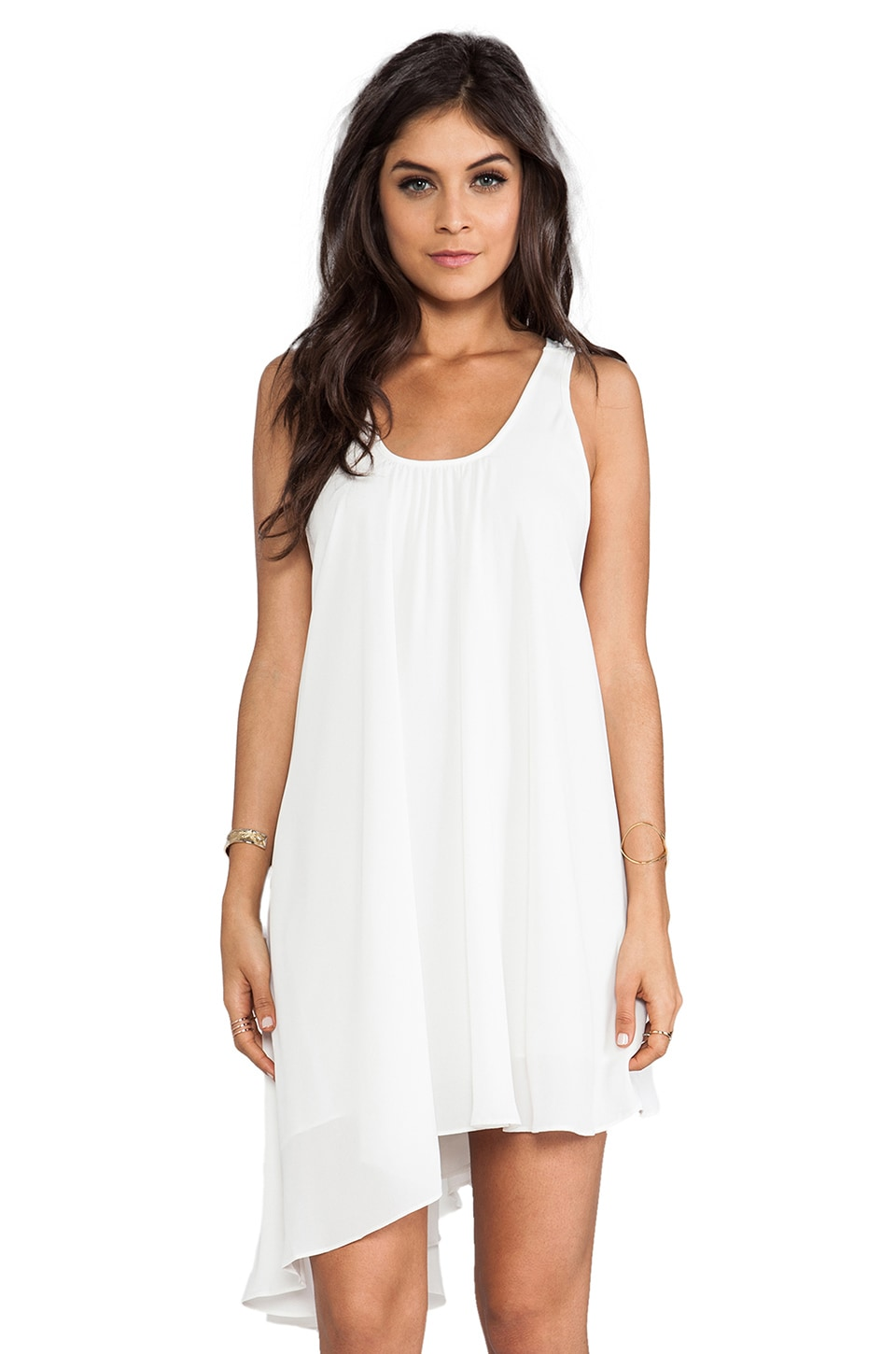 Lovers + Friends Love Potion Dress in White
