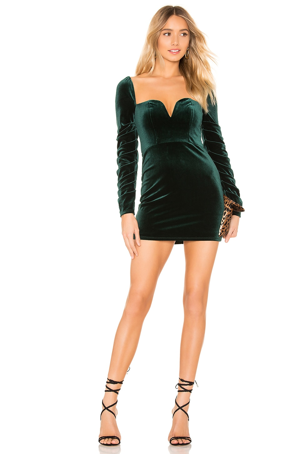 Lovers + Friends Ebony Dress in Green