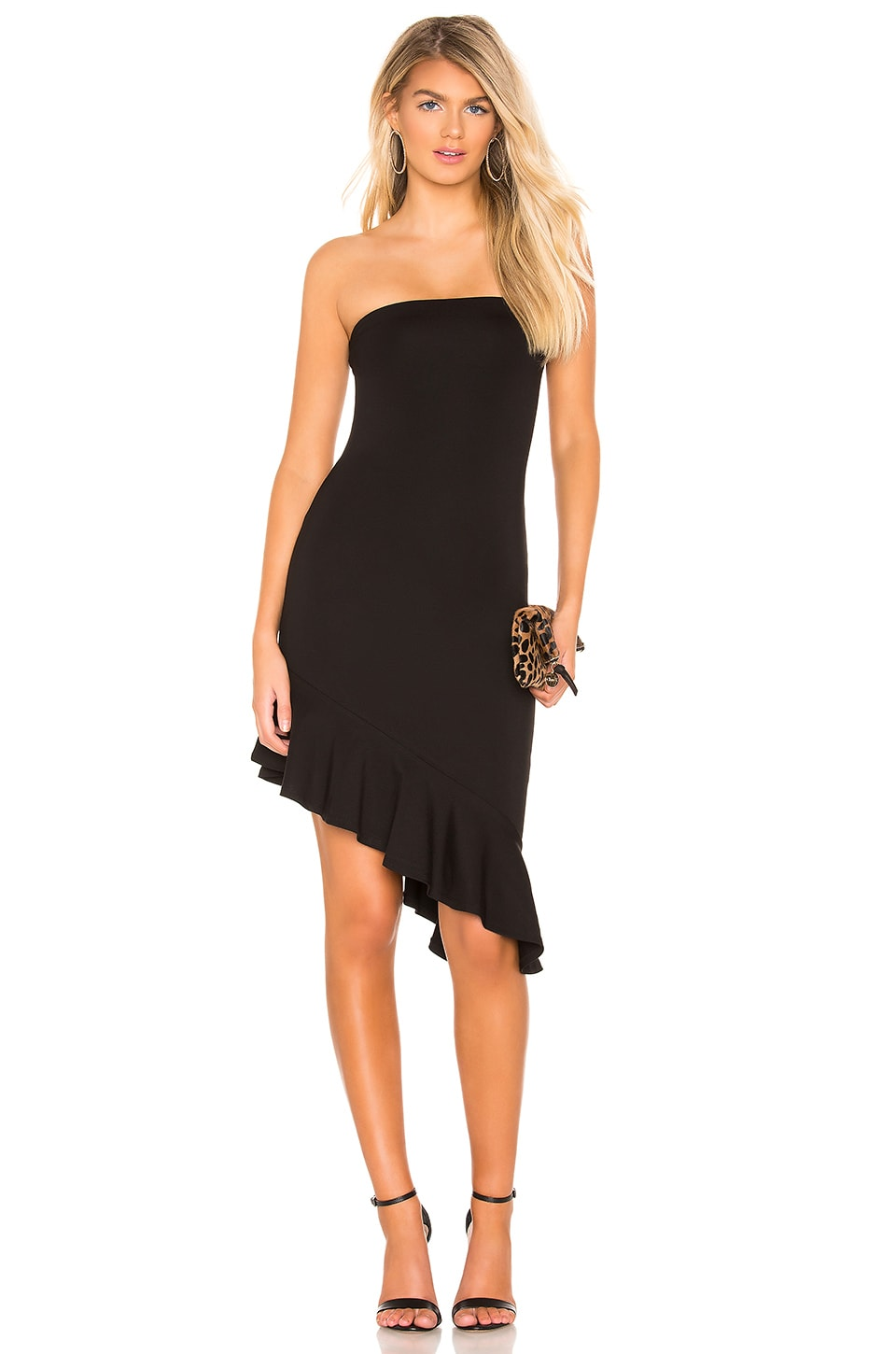 Lovers + Friends VESTIDO MIDI BRENNA