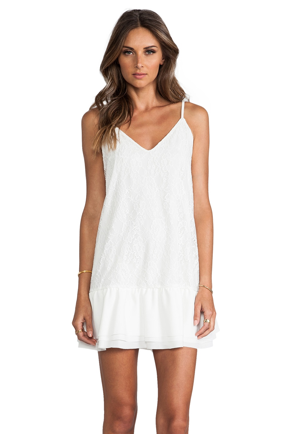 Lovers + Friends Sure Thing Dress in White