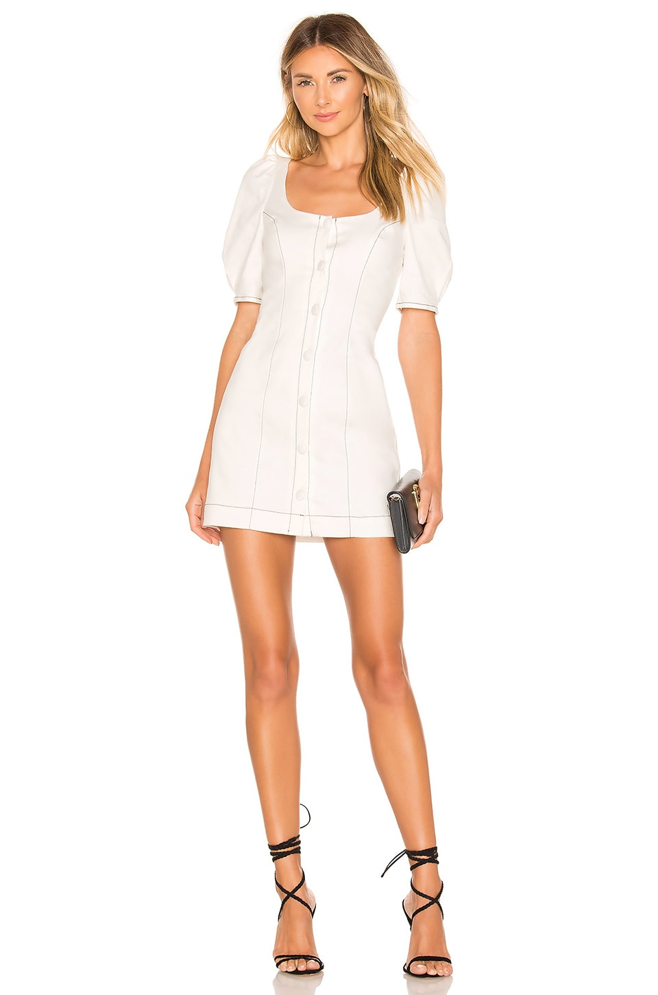 Lovers + Friends Josie Mini Dress in Ivory