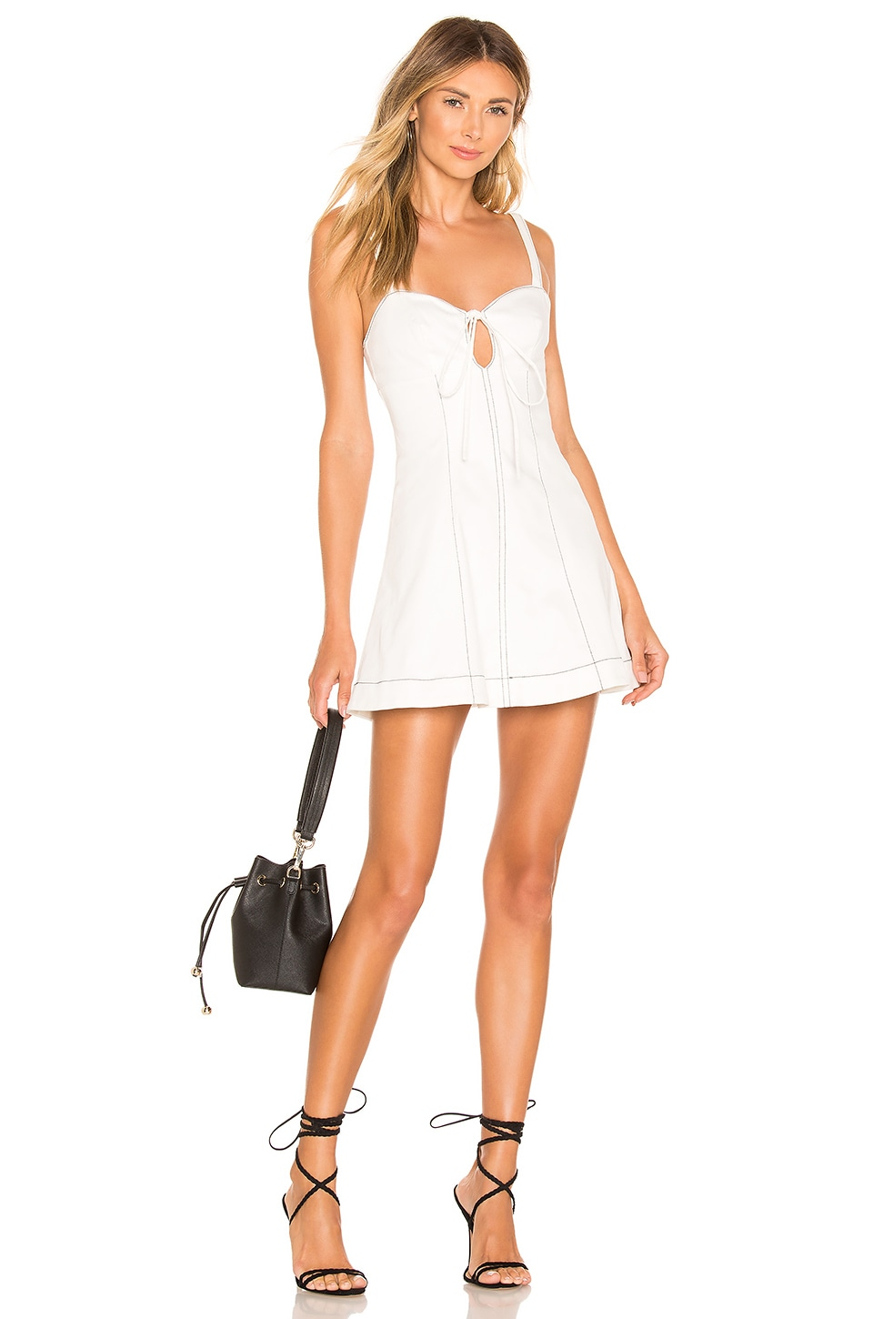 Lovers + Friends ROBE COURTE GRACE