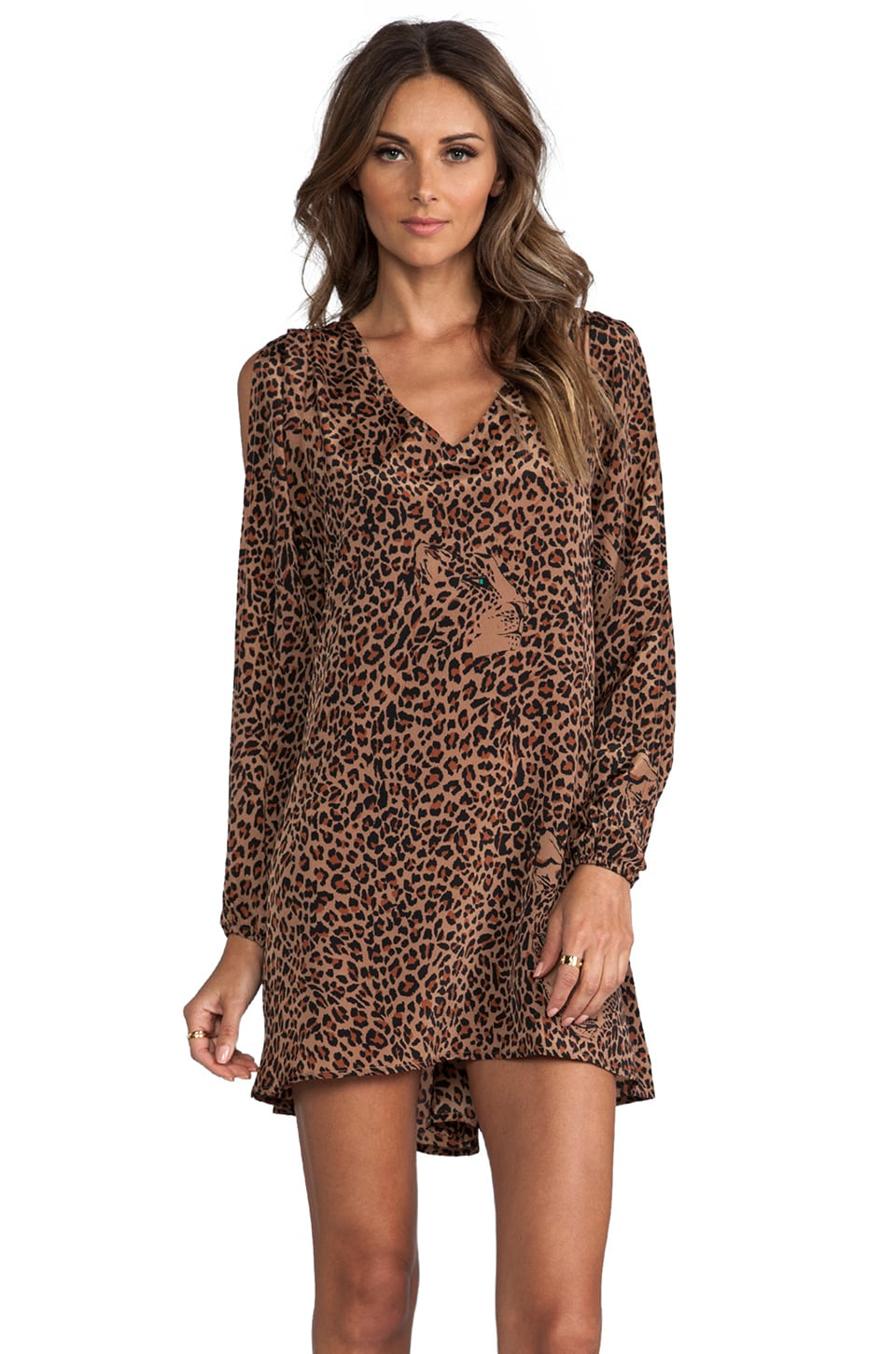 Lovers + Friends Gracie Dress in Leopard