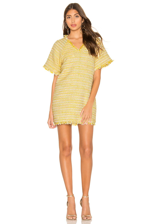 Lovers + Friends Sydney Mini Dress in Sun Yellow