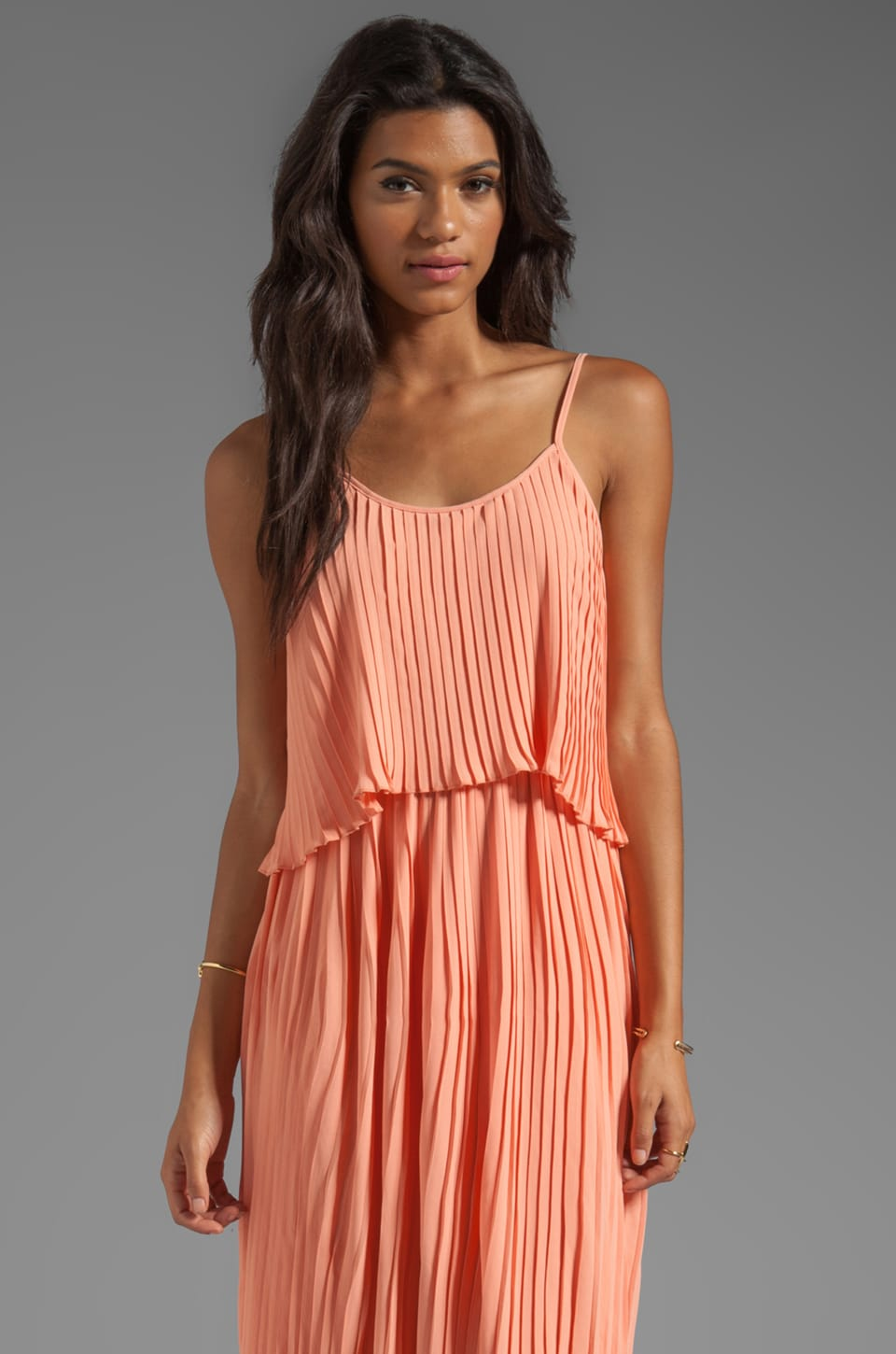 Lovers + Friends California Girl Dress in Coral