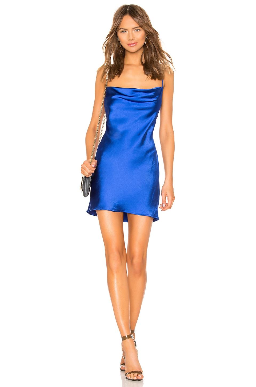 Lovers + Friends Marley Mini Dress in Cobalt