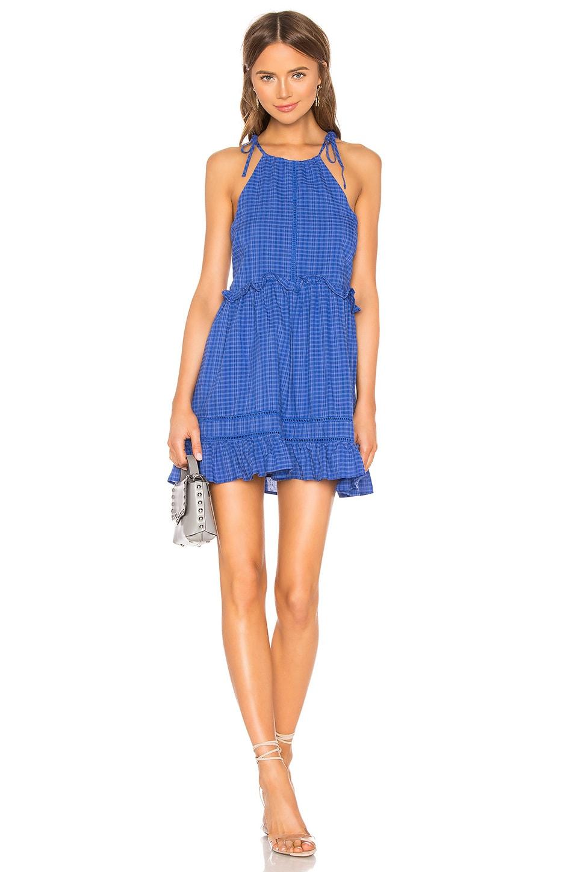 Lovers + Friends Emmaline Mini Dress in Cobalt