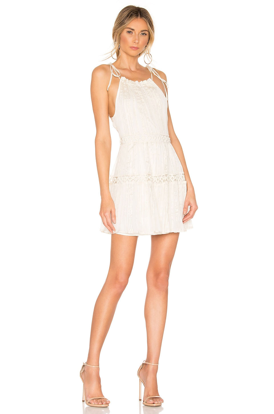 Lovers + Friends Thistle Mini Dress in Ivory