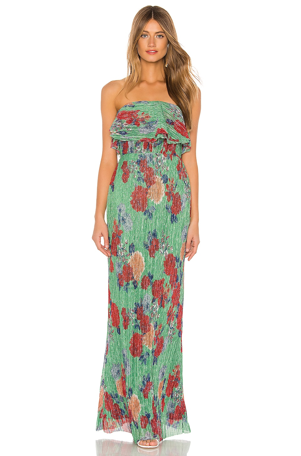 Lovers + Friends Ash Gown in Multicolor