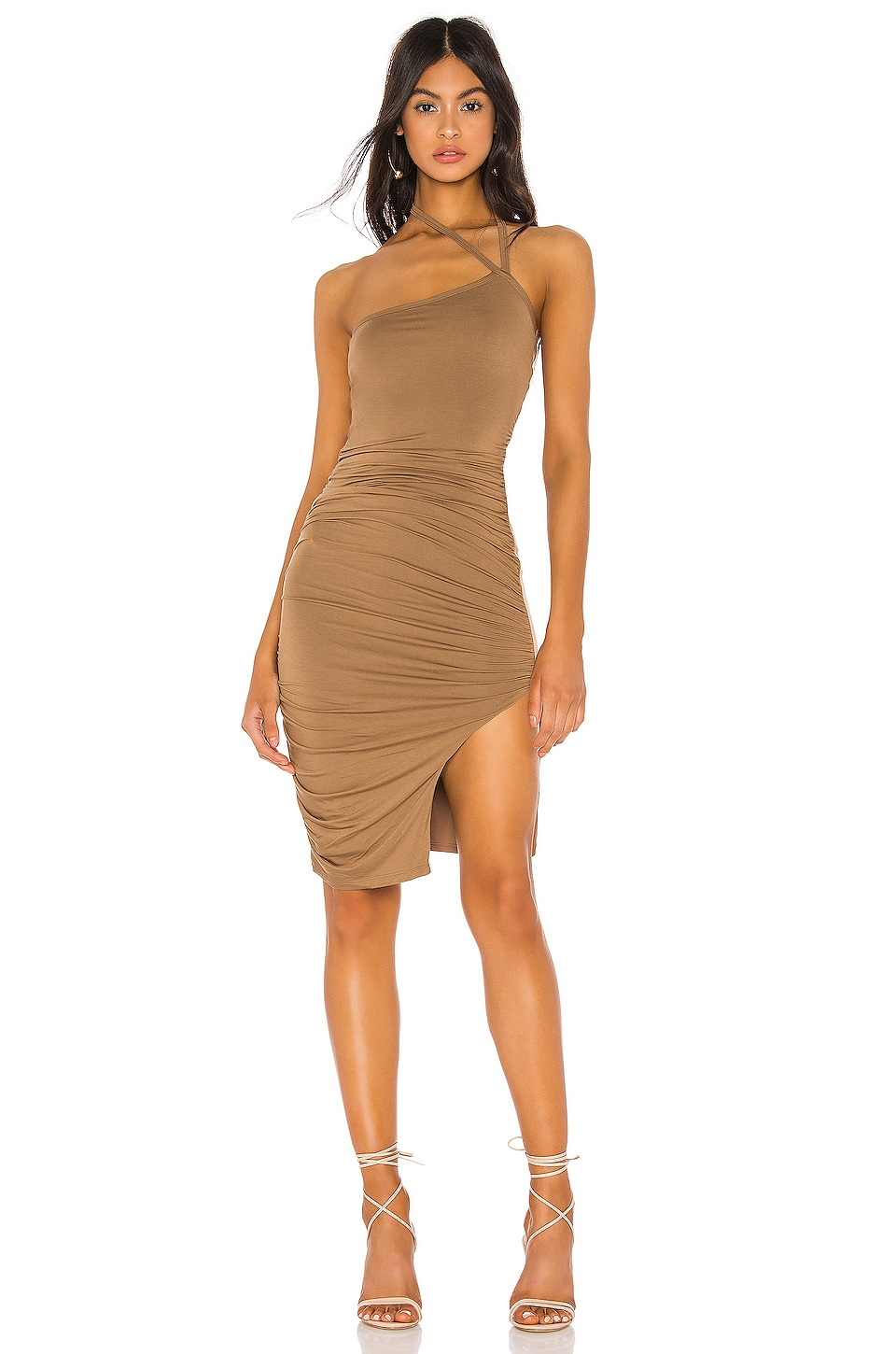 Lovers + Friends Gaga Dress in Brown