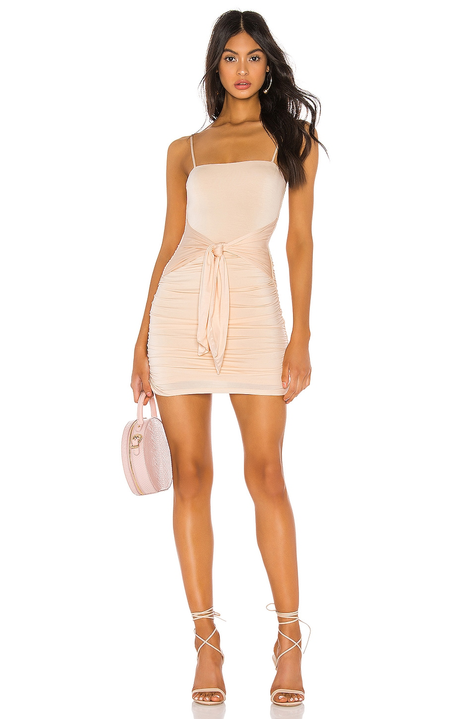 Lovers + Friends Jocelyn Dress in Nude