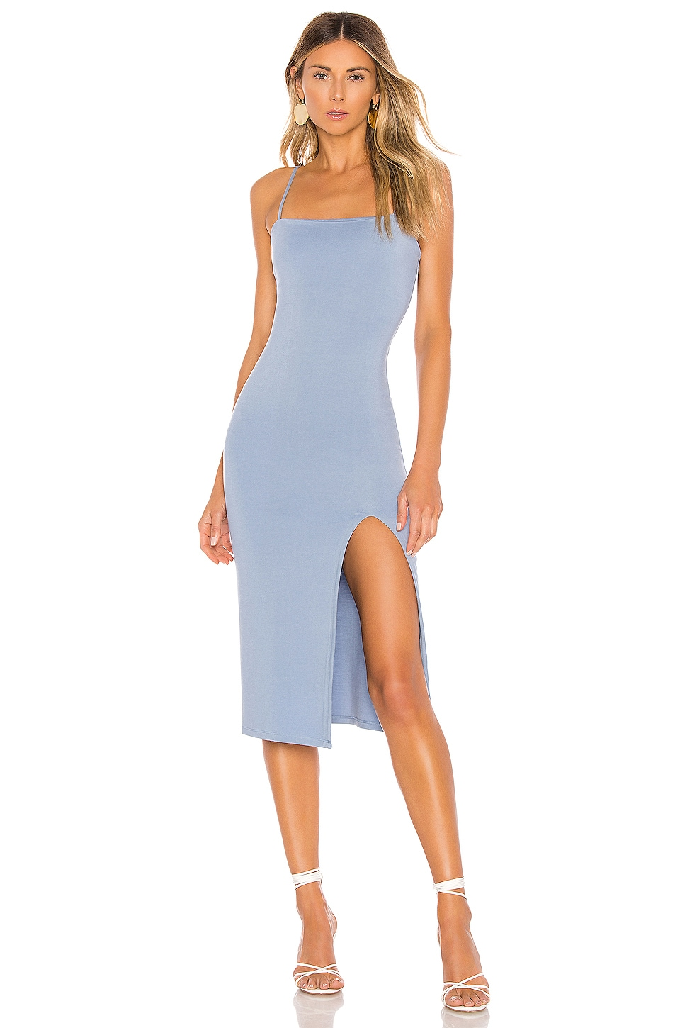 Lovers + Friends Skylar Midi in Blue Bell