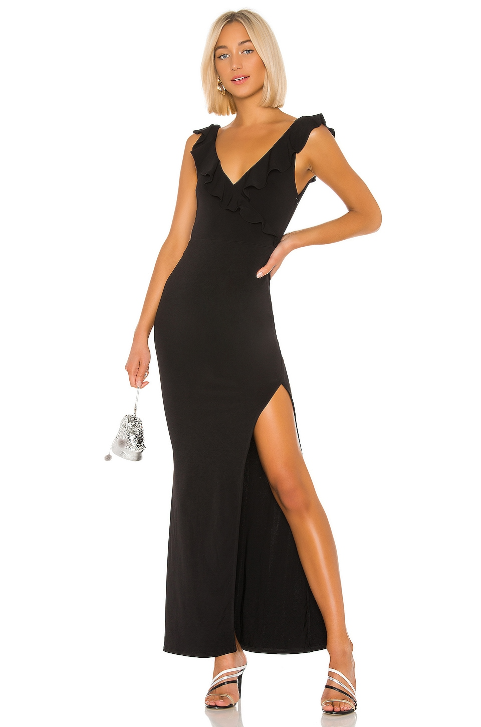 Lovers + Friends Keegan Maxi Dress in Black