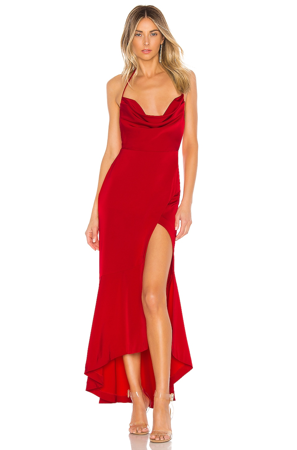 Lovers + Friends West Gown in Red
