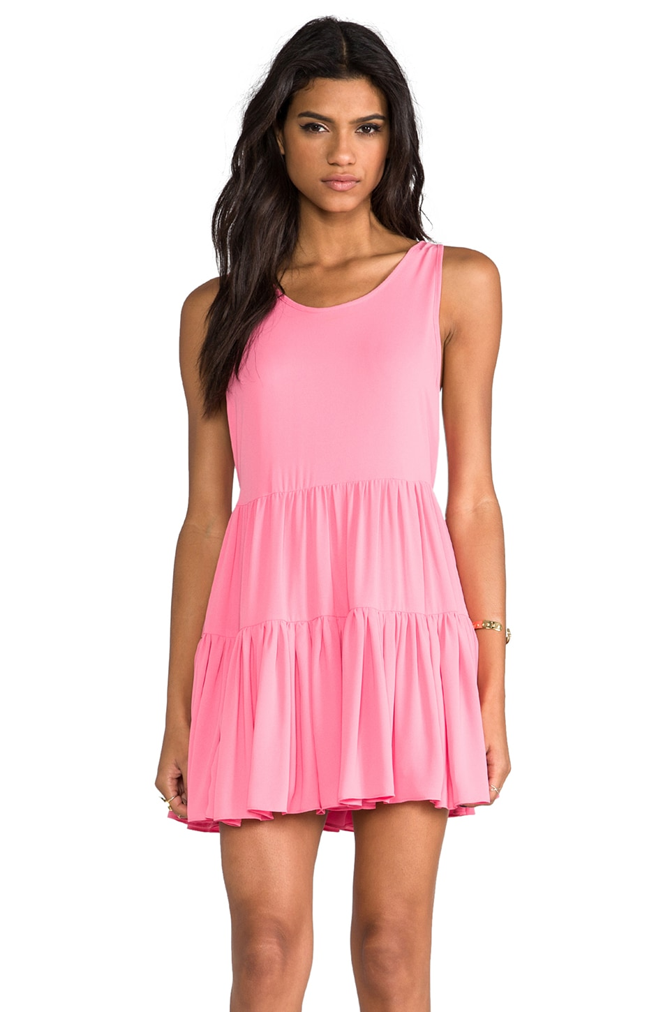 Lovers + Friends Angel Dress in Pink