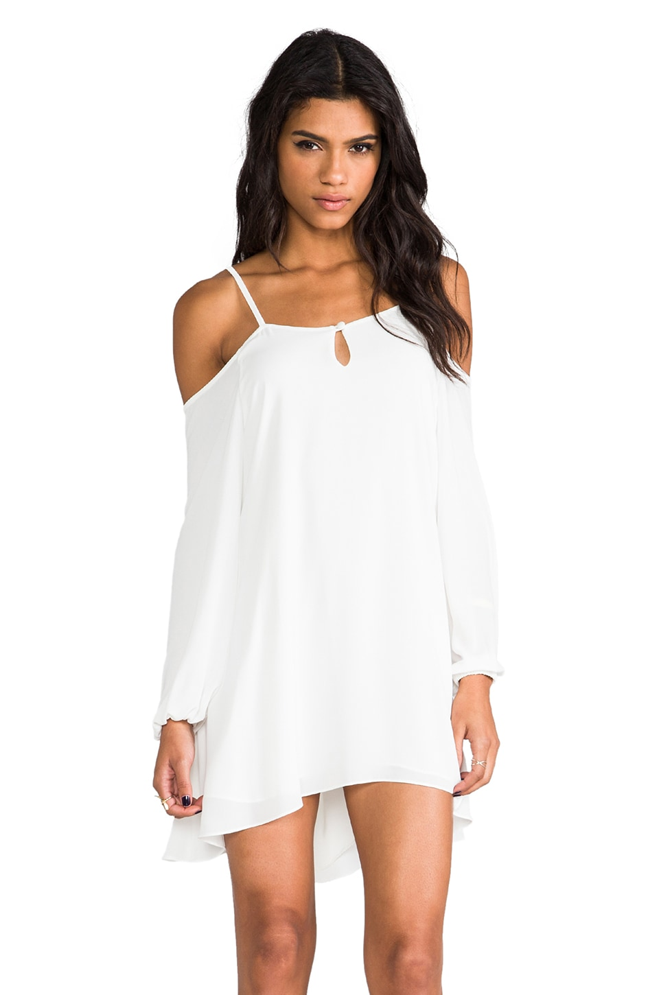 Lovers + Friends Irreplaceable Dress in White