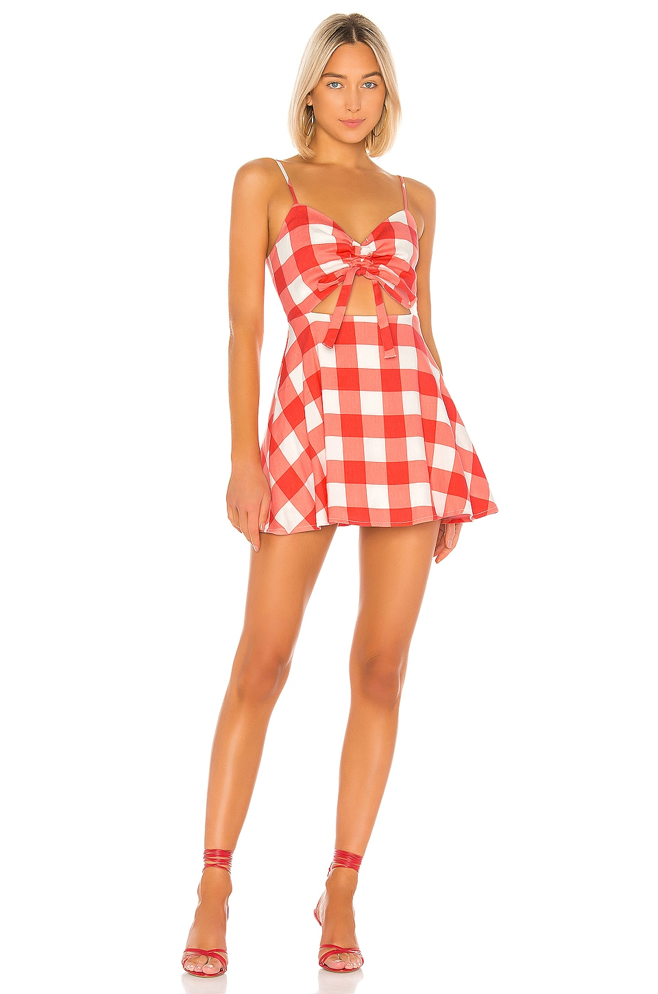 Lovers + Friends ROBE COURTE TRIXIE
