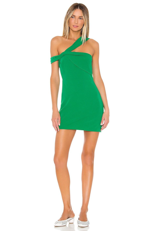Lovers + Friends Topher Mini Dress in Green