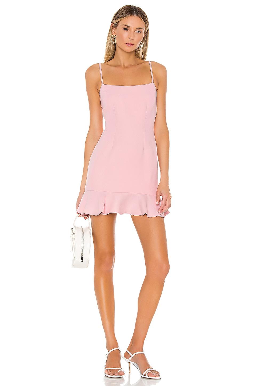 Lovers + Friends Teddy Mini Dress in Blush