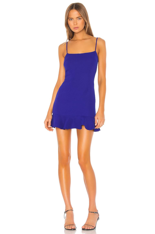 Lovers + Friends Teddy Mini Dress in Cobalt