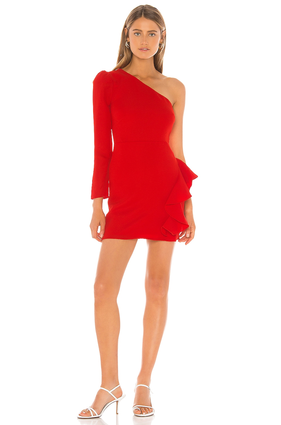 Lovers + Friends Jett Mini Dress in Red