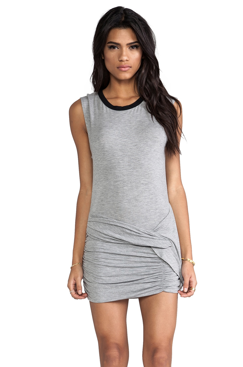Lovers + Friends Kelly Dress in Heather Grey