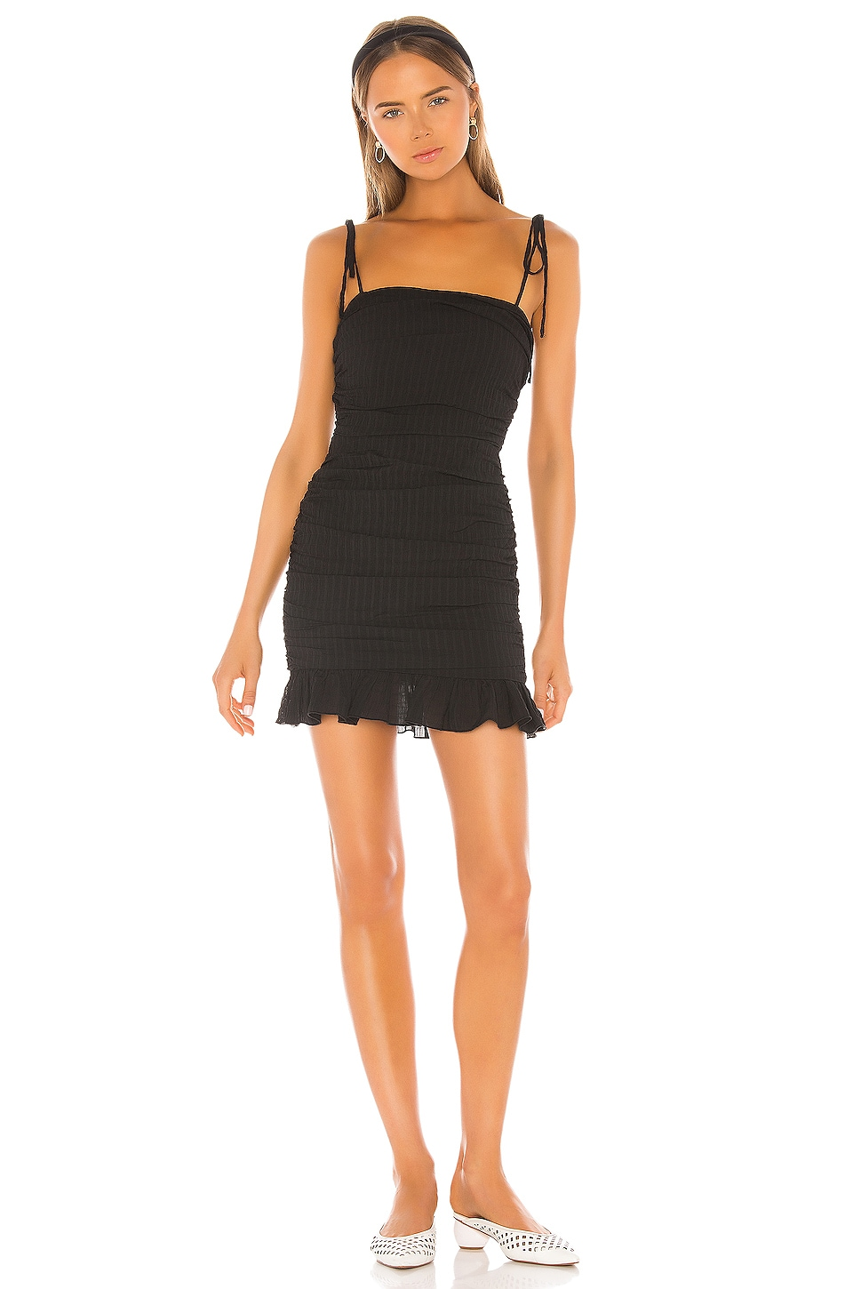 Lovers + Friends Amy Mini in Black