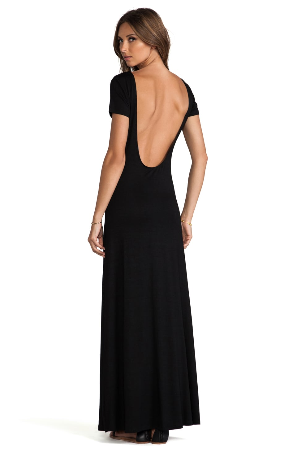 Lovers + Friends Vanity Fair Dress in Black