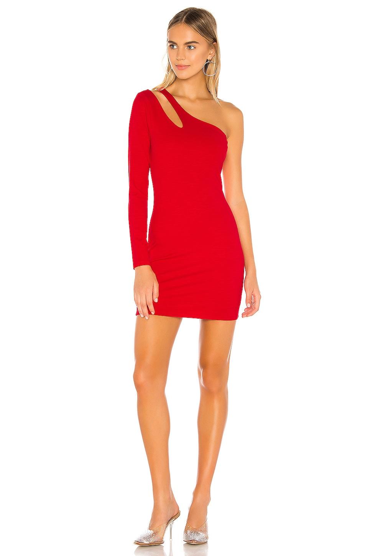 Lovers + Friends Aubree Mini Dress in Lipstick Red