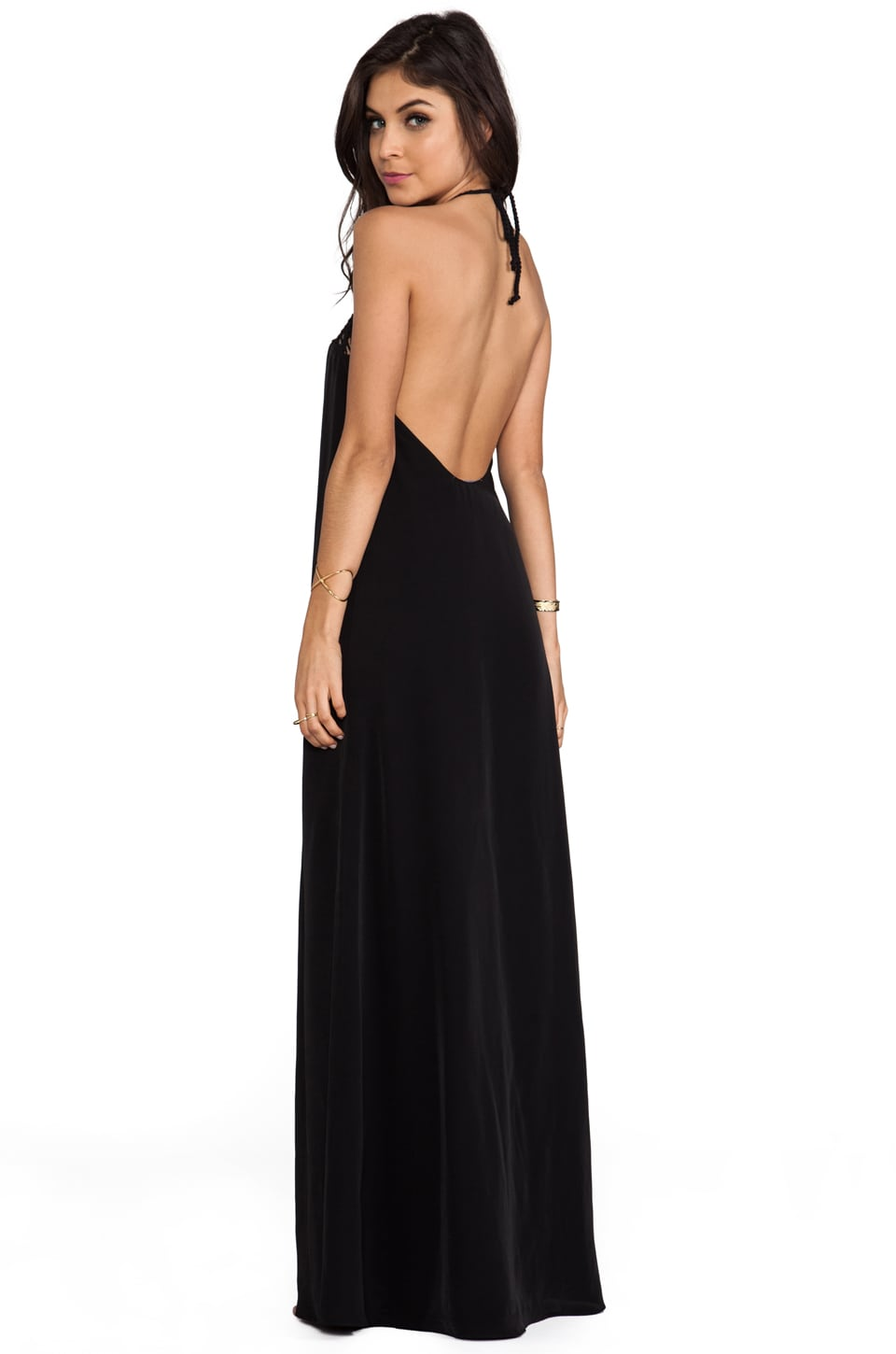 Lovers + Friends Mahalo Maxi in Black