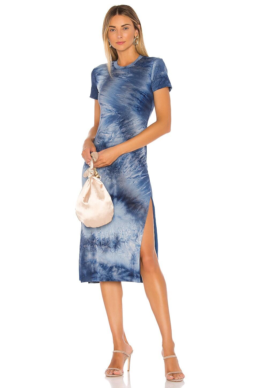 Lovers + Friends Irina Dress in Blue Tie Dye