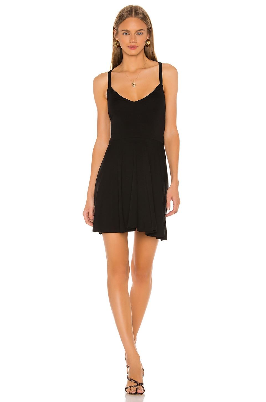 Lovers + Friends Ken Mini Dress in Black
