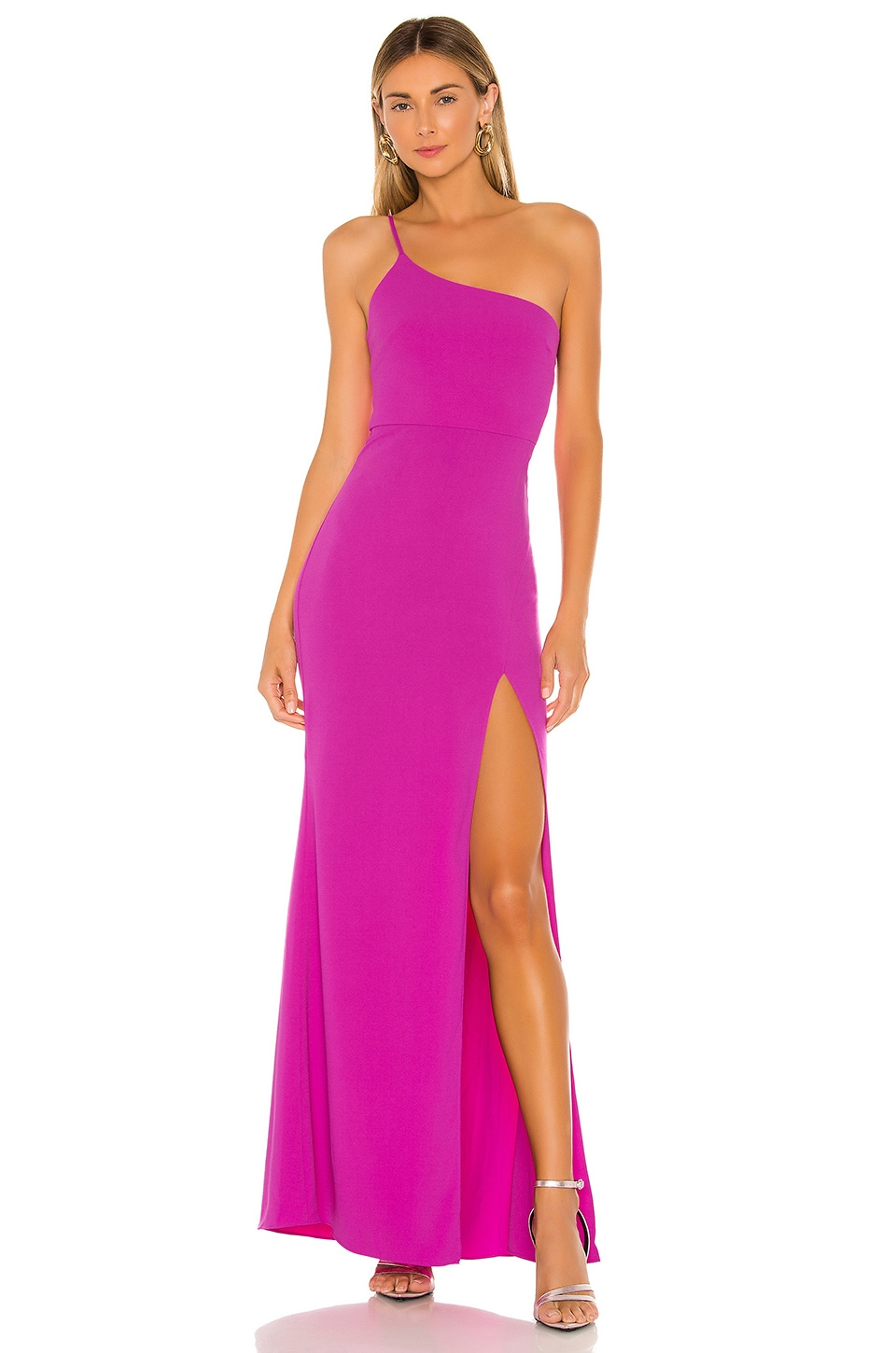 Lovers + Friends Eve Gown in Rose Violet