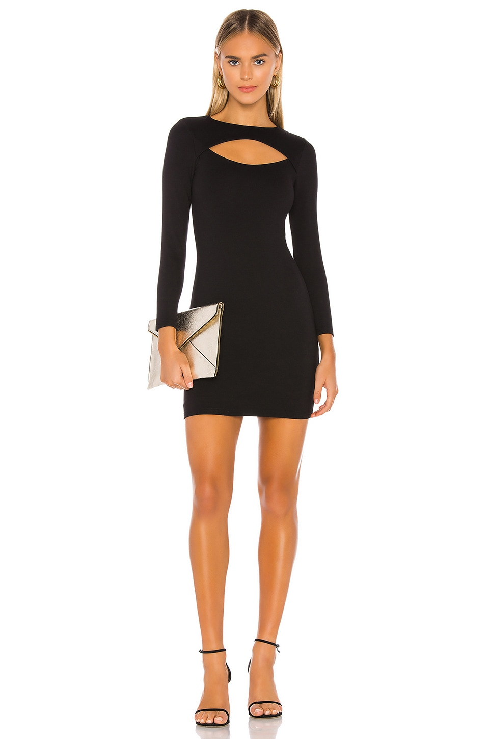 Lovers + Friends Scarlette Mini Dress in Black