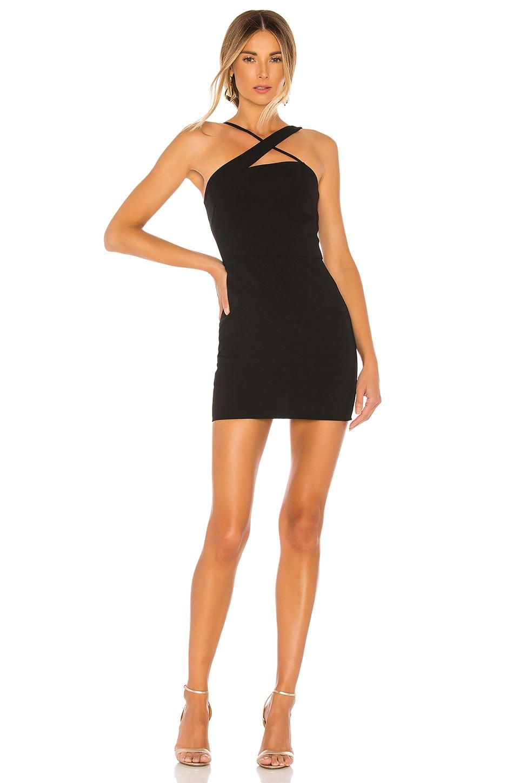 Lovers + Friends Sidney Mini Dress in Black
